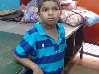 SARTHI is proud to welcome another child into our care