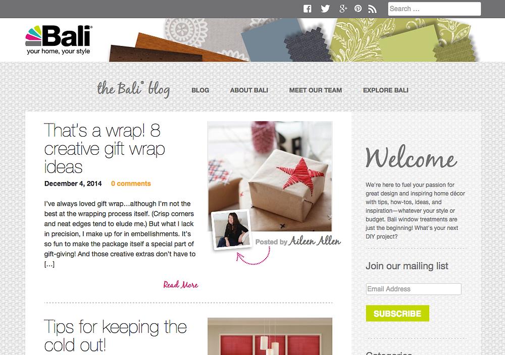 Bali blog