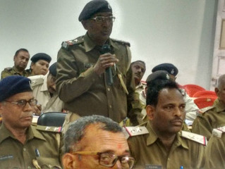 Our Director participates in police training in Bihar's Bhojpur district