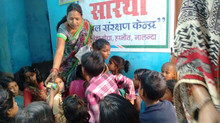 We recently helped open a resource and protection center for children