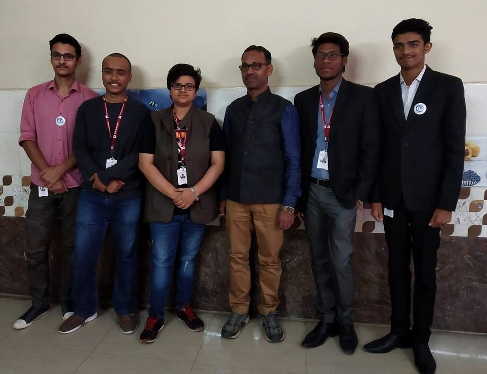SARTHI interns from Symbiosis law school