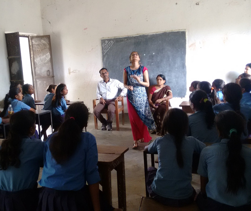 Bhawani Tola's middle school teaching
