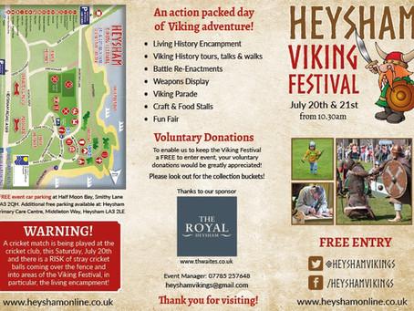 Heysham Viking Festival 2019