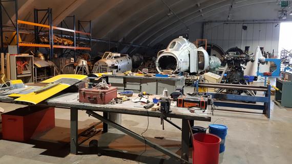 SWAM Restoration Hangar