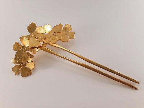 Pic à chignon Hibiscus - Modèle 2
