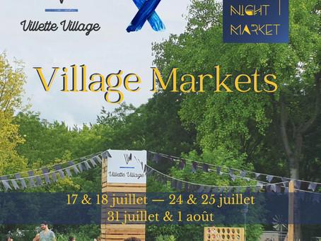 Paris Night Market au Villette Village