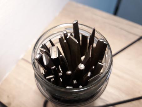 La ciselure, métier rare #2 : Outils