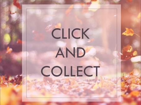 Le Click & Collect est arrivé sur la boutique en ligne !