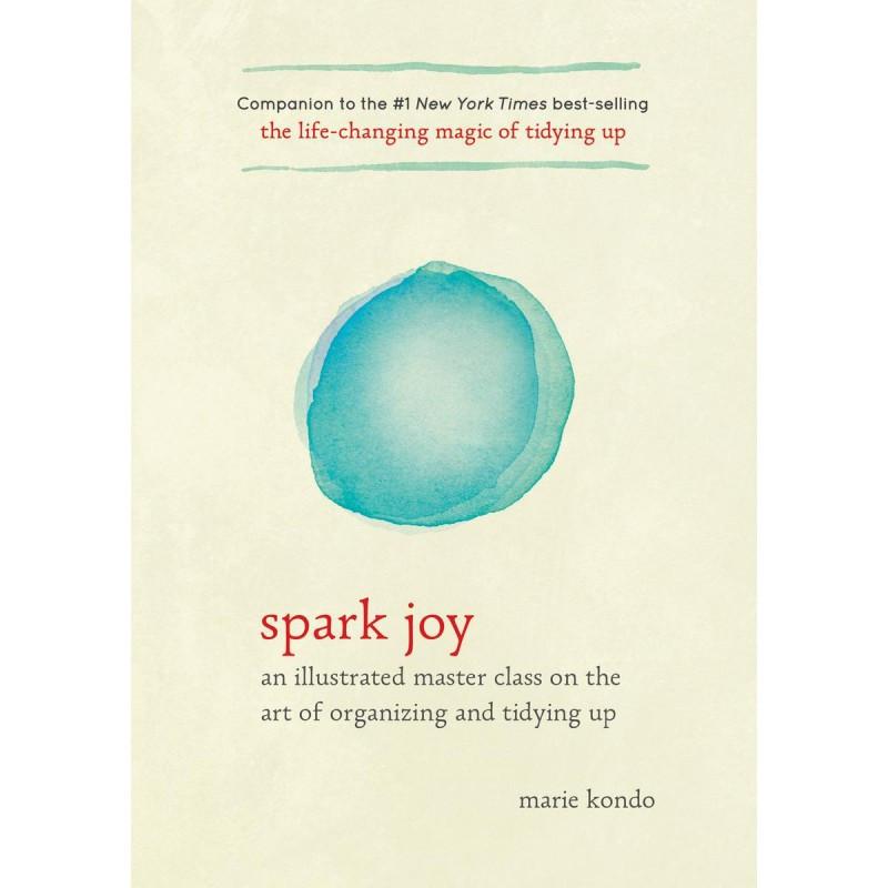 Marie Kondo's book Spark Joy