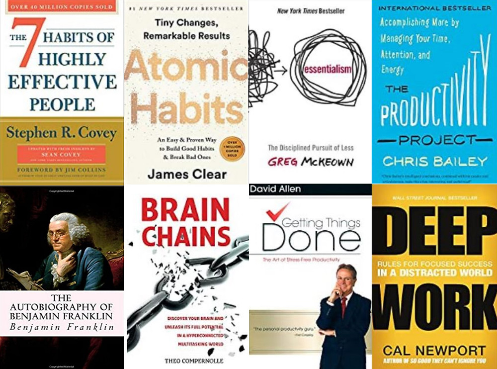 8 of the Best Productivity Books on the Market