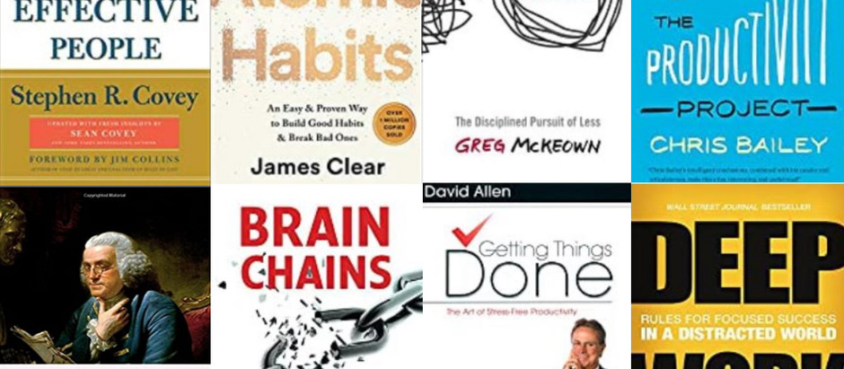 8 of the Best Productivity Books on the Market Today