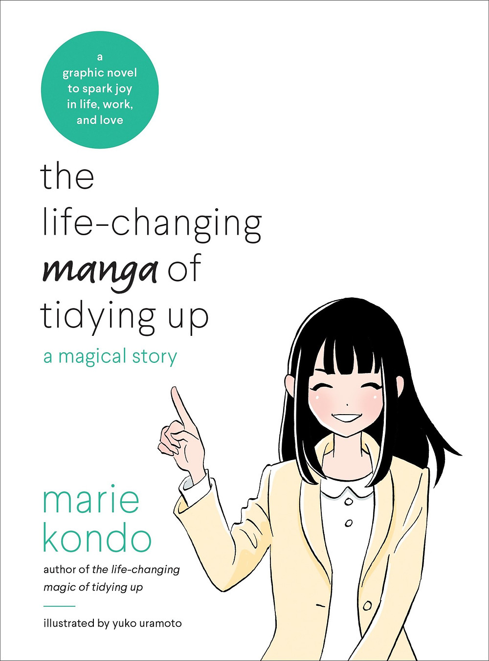 the life changing manga of tidying up a magical story
