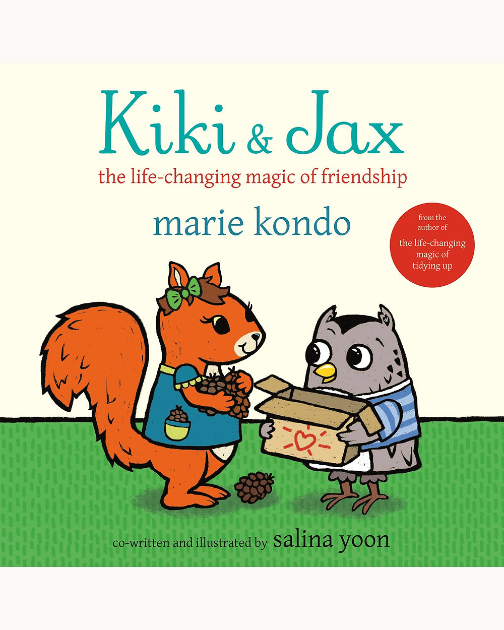 Marie Kondo's book Kiki and Jax