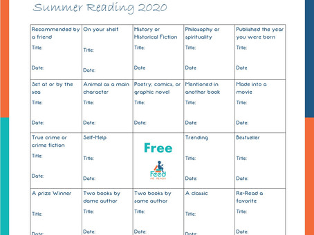Get Motivated to Read with a Book Bingo Challenge - July 12th Motivational Monday