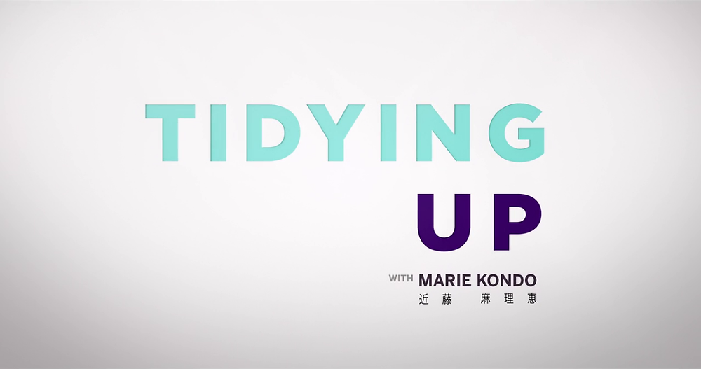 Netflix Original Tidying Up with Marie Kondo