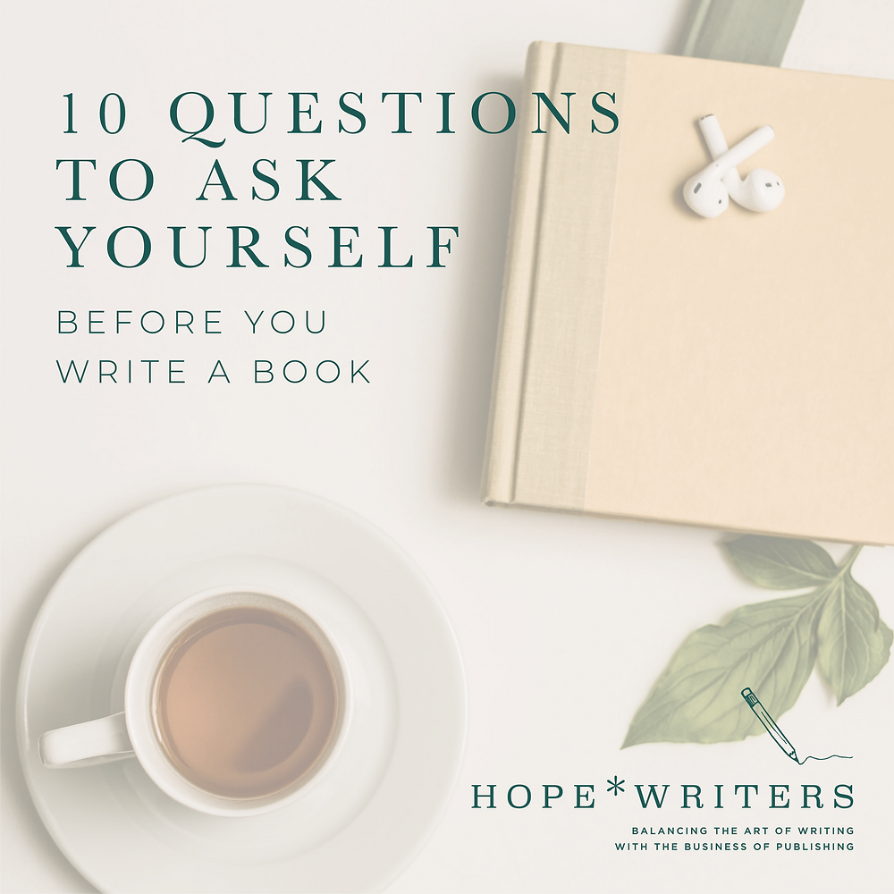 10 Questions PDF: 10 questions to ask yourself before you write a book