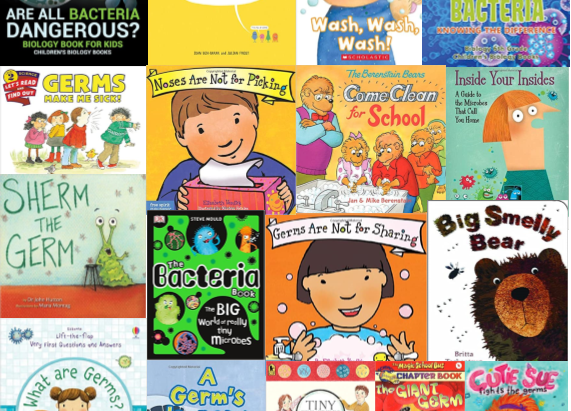 17 Books to Help Kids Discover the Good, the Bad, and the Ugly Truths about Germs