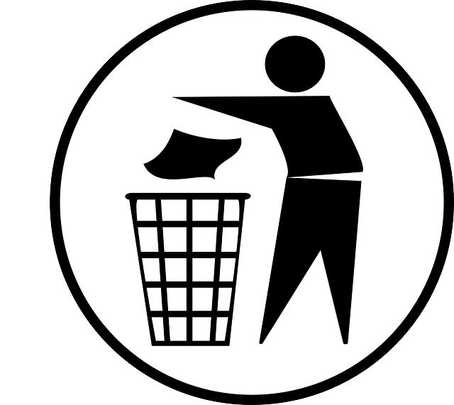 Image by Clker-Free-Vector-Images from Pixabay: Someone discarding something.