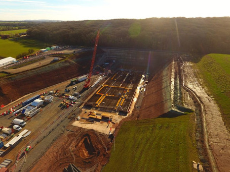 HS2 tunneling beneath ancient woodland