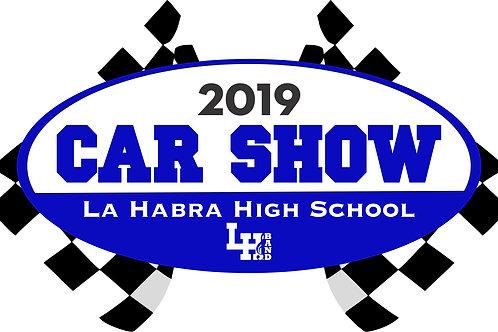 2019 Show Car Registration