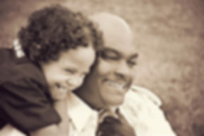 Father Daughter Father's Day Stock Photo