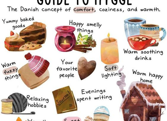 Hygge cup of  Happiness