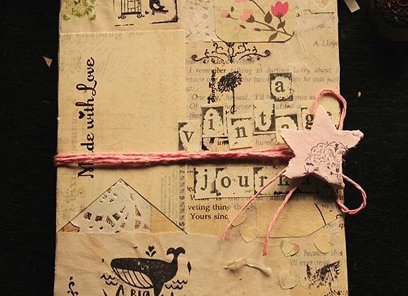 Vintage Handmade Journal