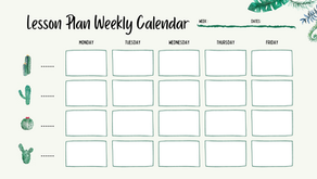 Lesson Planner Template