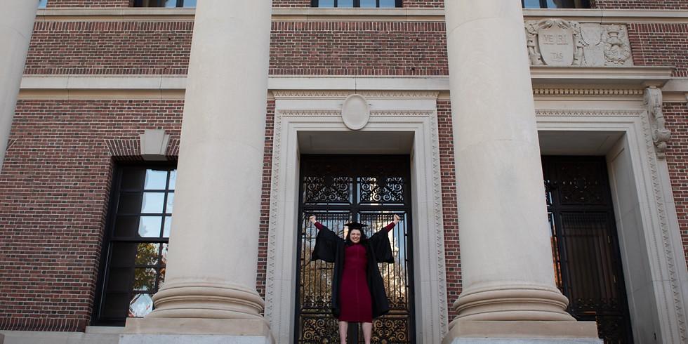 Graduation from Harvard University