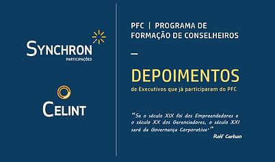 CELINT - DEPOIMENTOS PFC