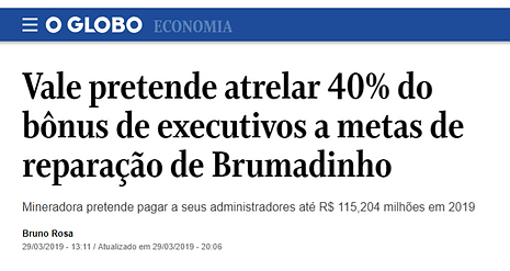 CELINT -  Jornal O Globo - Gestão de Risco