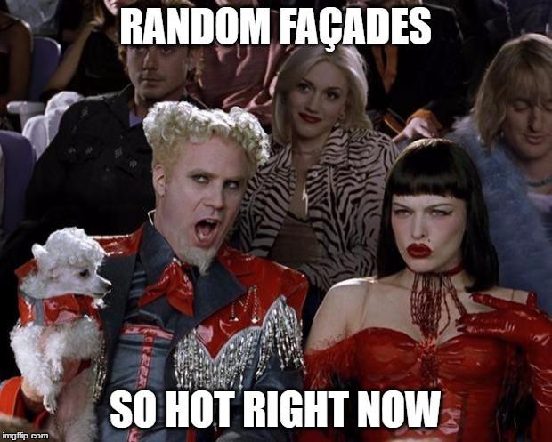Random Facades Revit