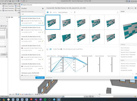 Revit 2021 Generative Design - Optimization Method