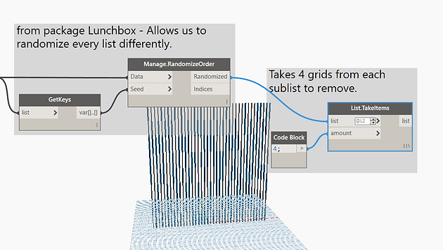 Randomized Panel Facades in Revit with Dynamo