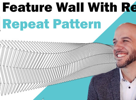 Feature Wall Using Revit Adaptive Components and Repeat Pattern Tool