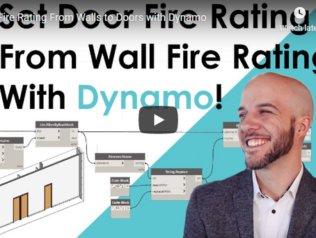 Set Fire Rating of Doors From Walls With Dynamo