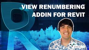 Renumber Views In Revit EvolveLAB Add-in Update