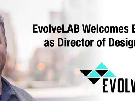 EvolveLAB Welcomes Brian D. Juge, AIA as Director of Design Technologies