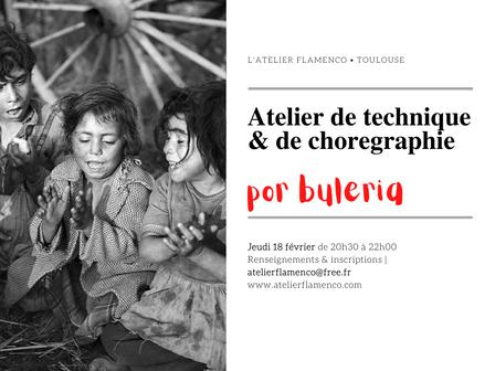   Atelier de danse flamenco por BULERIA   L'Atelier flamenco Toulouse