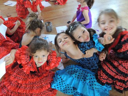 | Les anniversaires FLAMENCO |            Enfants à partir de 4 ans