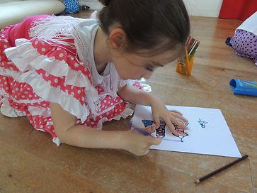 anniversaire-flamenco-enfants- toulouse_Soledad Pascale CUESTA