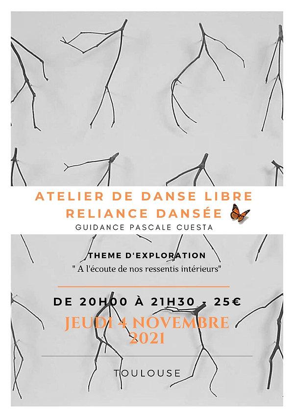 Danse libre Toulouse