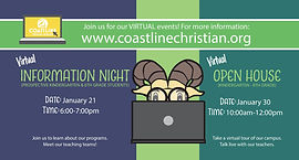 Info Night and Open House Banner - Small