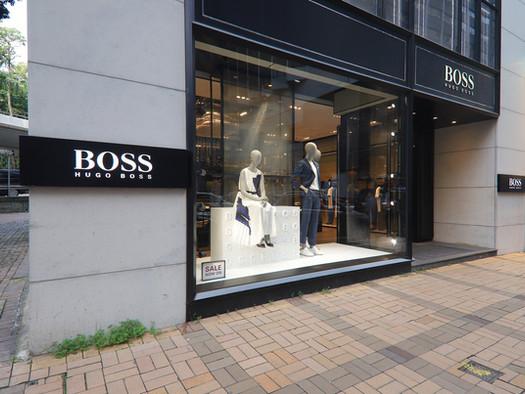 Hugo Boss Flagship Store on Canton Road, Tsim Sha Tsui
