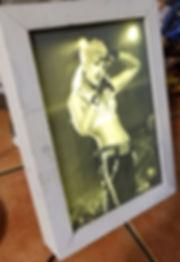 Gwen Stefani of No Doubt, gameon3d, custom backlit lithophane frame