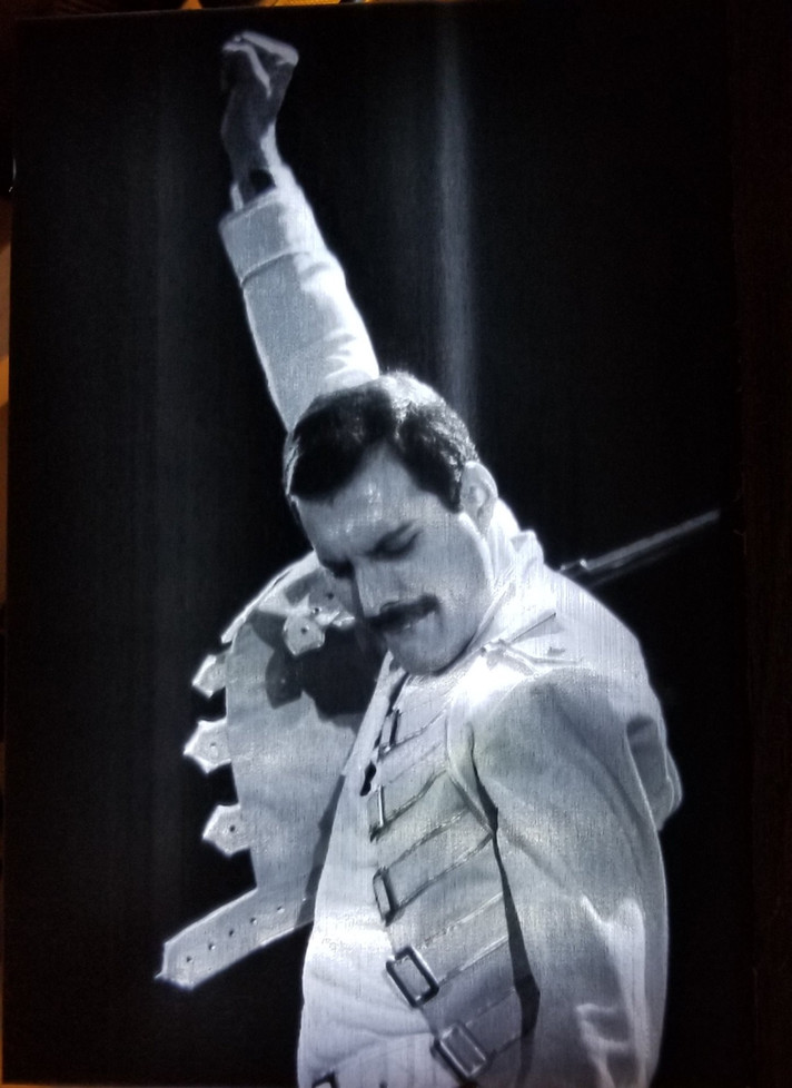Freddy Mercury of Queen