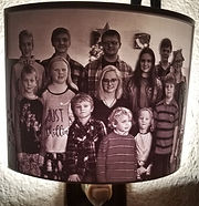 Custom Night Light, gameon3d, lithophane