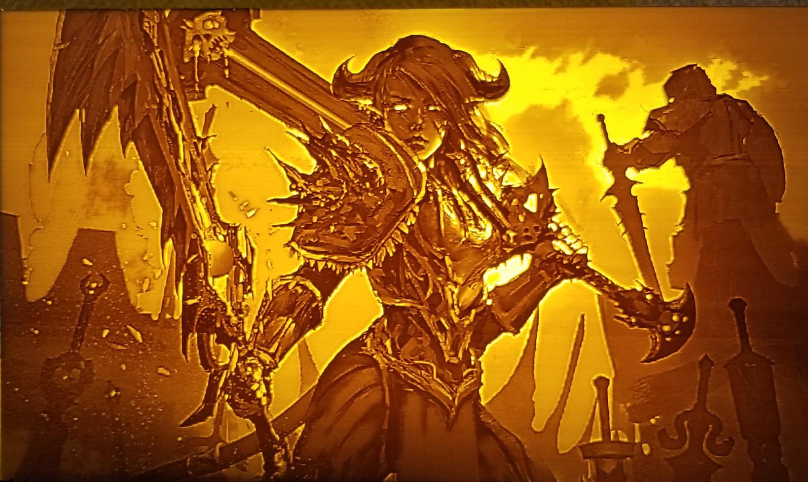 Warcraft: Draenei Fury Warrior