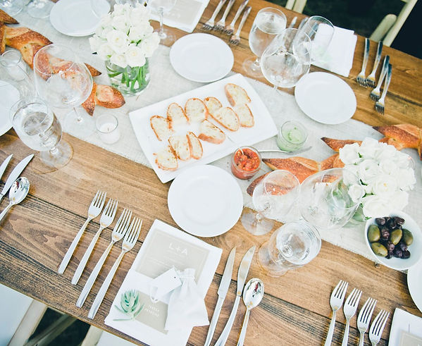 wedding catering italian