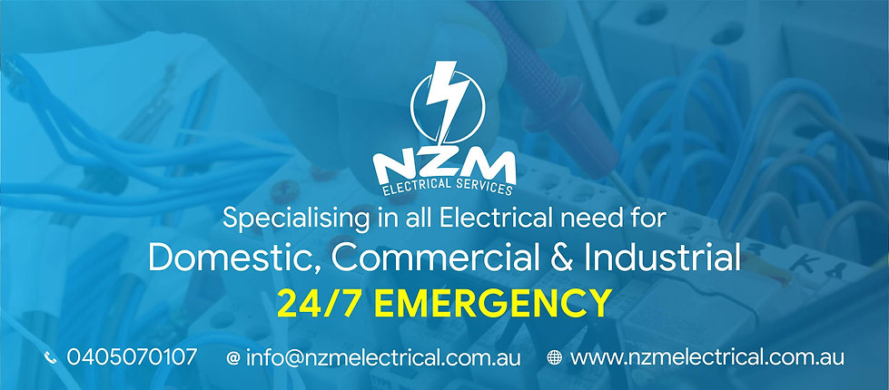 NZM Electrical Banner